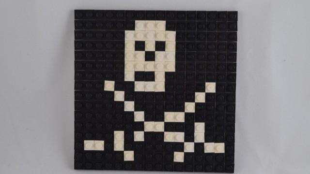 Small Pirate Mosaic